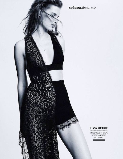 Le Fashion Blog Editorial Lace And Embroidered Goodness Madame Figaro France Belle D'Ajours March 2014 Anthony Vaccarello Cut Out Asymmetrical Sleeveless Dress 4 photo Le-Fashion-Blog-Editorial-Lace-And-Embroidered-Goodness-Madame-Figaro-France-Belle-DAjours-March-2014-4.jpg