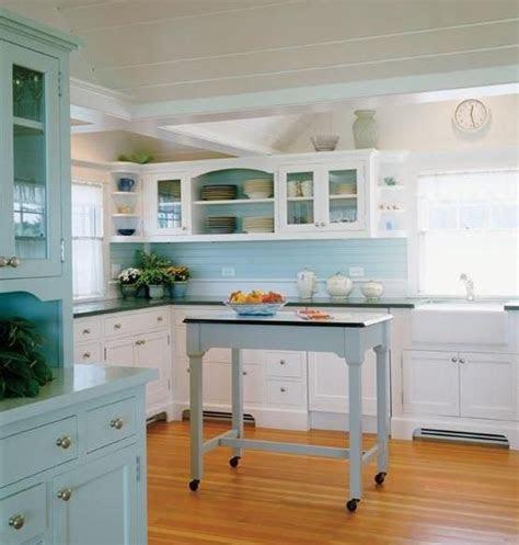 ideas  run  blue kitchen decorating project modern