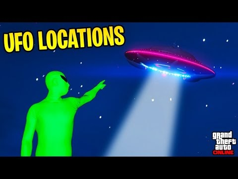 ALIEN UFO'S ARE BACK IN GTA ONLINE!!! New Sightseer Event Details + All Future UFO Locations
