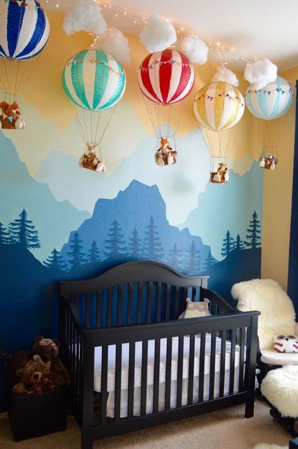 22 Terrific DIY Ideas To Decorate a Baby Nursery - Amazing ...