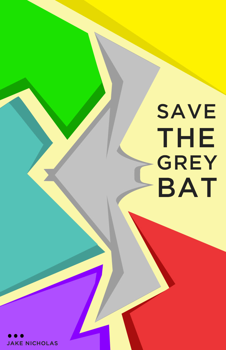 A poster I made for school about Grey Bats!