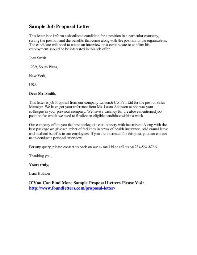 Proposal Quotation Letter Sample Guru Paud