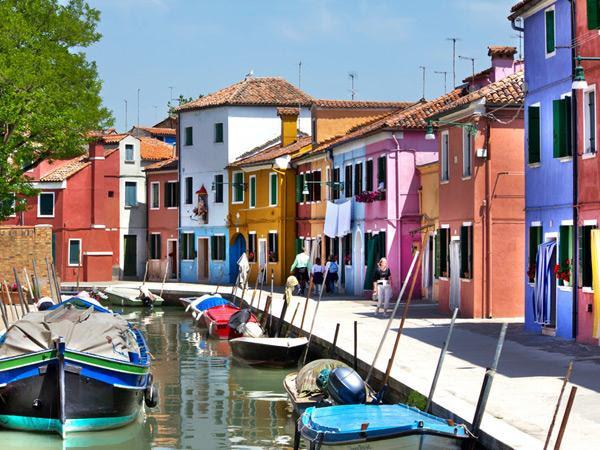 Burano, en Italie