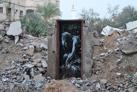 Banksy in Gaza