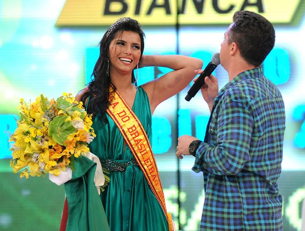 Bianca vence a final da Musa do Brasileirão  (Foto: André Durão / GLOBOESPORTE.COM)
