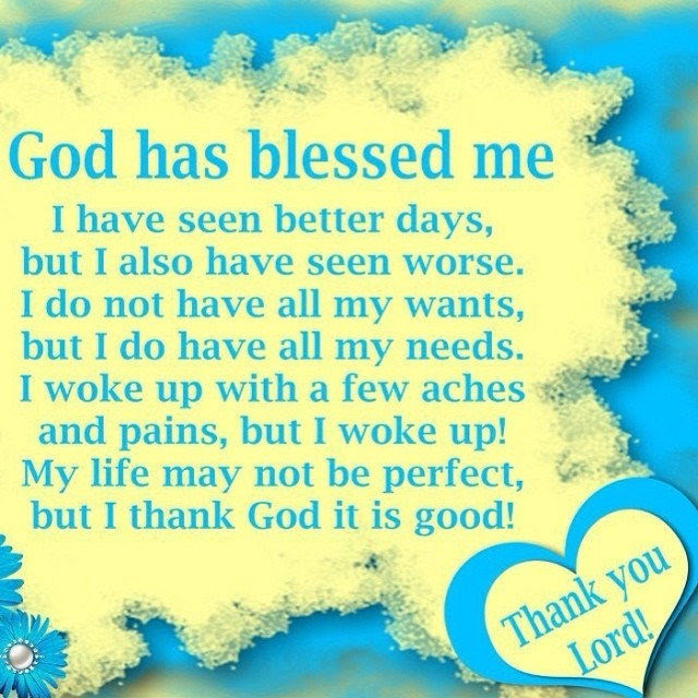 God Has Blessed Me Pictures Photos And Images For Facebook Tumblr
