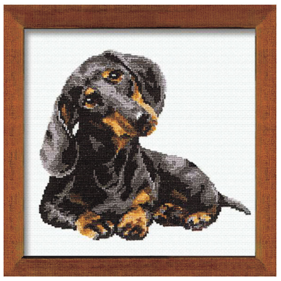Dachshund Cross Stitch Pattern