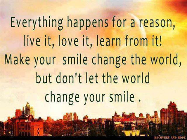 Dont Let The World Change Your Smile Spirituality Babamail