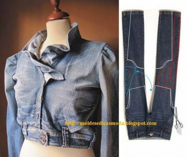 Creative Ways To Re-purpose Old Jeans 2