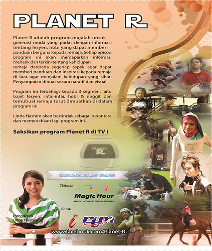 Program Planet R ... hibur penonton TVi