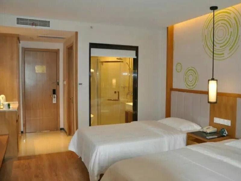 Price GreenTree Inn Taizhou Taixing Middle Guoqing Road Business Hotel