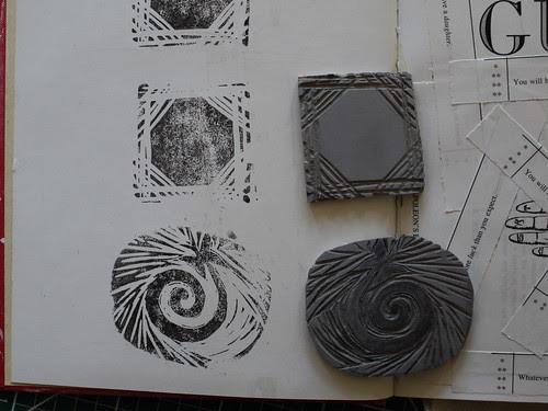A Couple More Linocuts