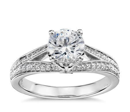 Colin Cowie Eternal Pavé Split Shank Diamond Engagement
