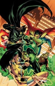 It's the Justice League Versus Green Lantern in November (scroll down for the story on ComicBook.com)