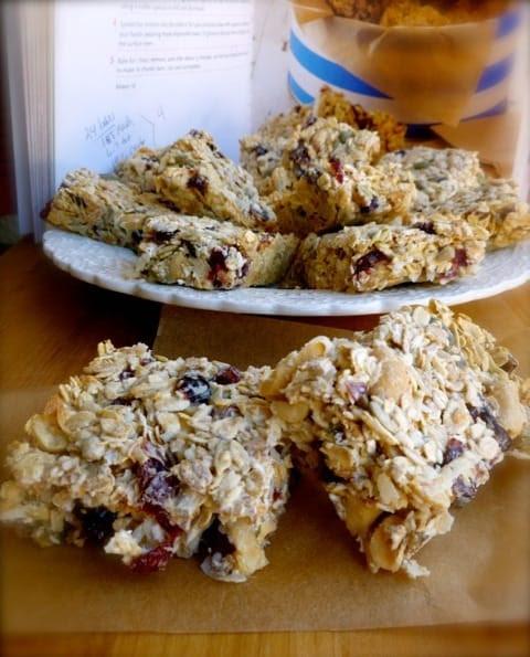 nigella lawson breakfast bars healthy version