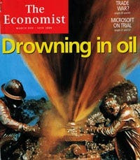 """Drowning in oil"" - March 6, 1999"