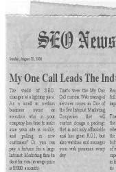 My One Call LLC | Local SEO Denver| Search Engine