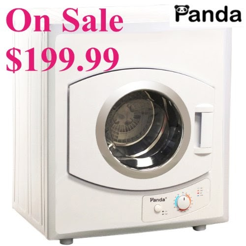 Clothes Dryer Receptacle: Hot Panda Portable Compact Cloths Dryer Apartment Size