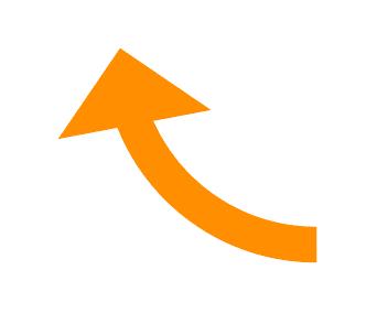 矢印と曲線の矢印の超簡単な作り方illustratorの裏技 7日間