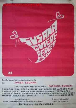 1977 - susana quiere perder eso