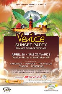 Venice Sunset Party