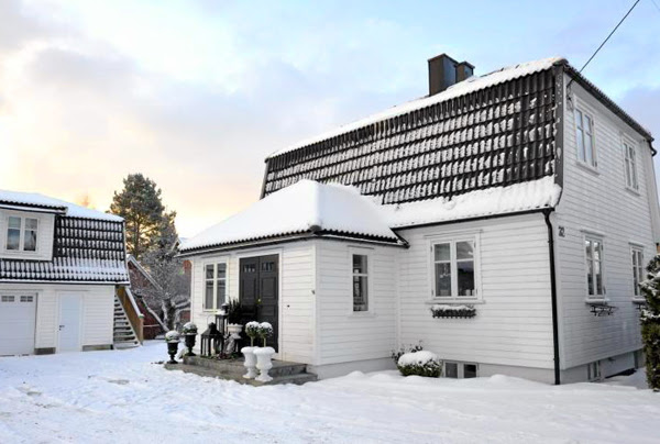 Minimalist Christmas decorations in Norway