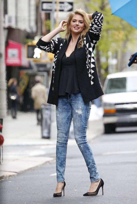 Kate Upton Street Photoshoot in NYC -33