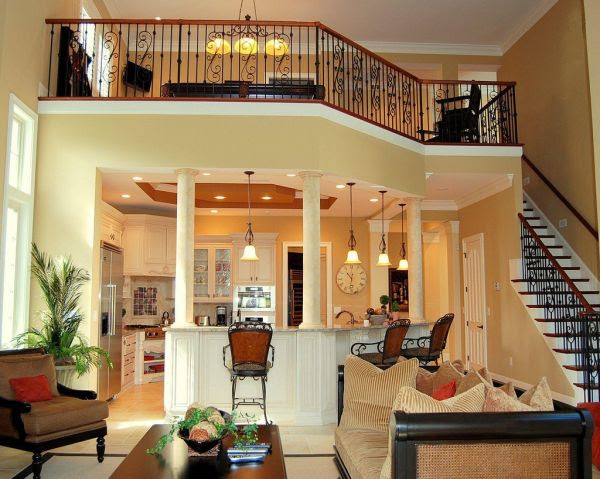 Living Room With Ladder - 30 Design Ideas For Your Home