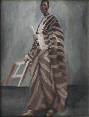 Portrait of a man (1954), de Aina Onabolu