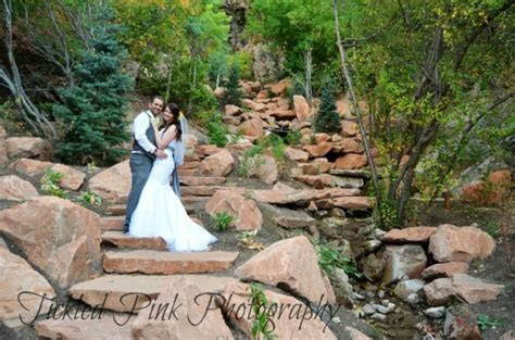 Utah Wedding Venue   Louland Falls   Salt Lake Bride