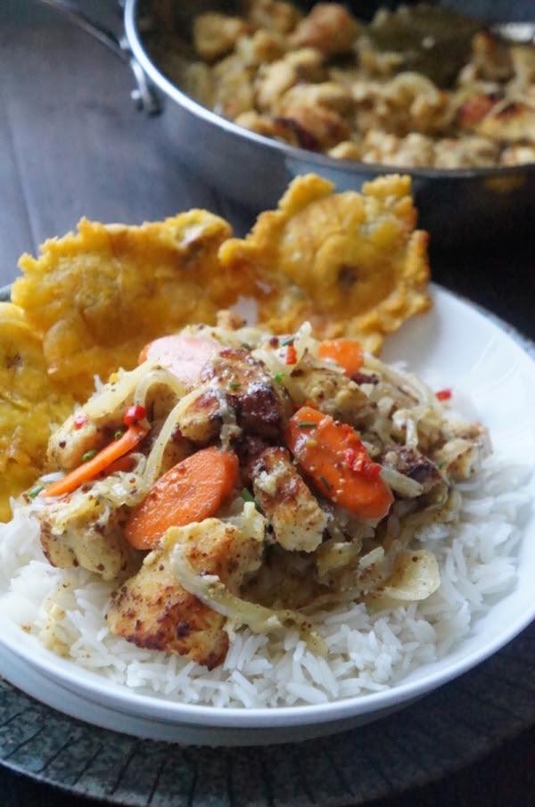 fish - yassa - gambia - senegal - west - african - mustard - vinegar - onions - rice