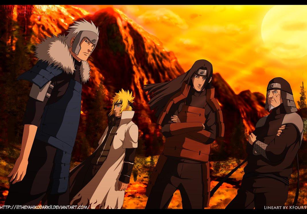 Hokages Return Naruto Foto 36166265 Fanpop