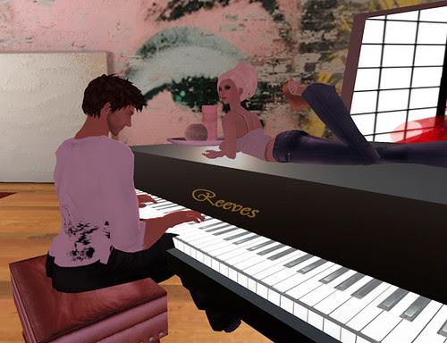 My piano man
