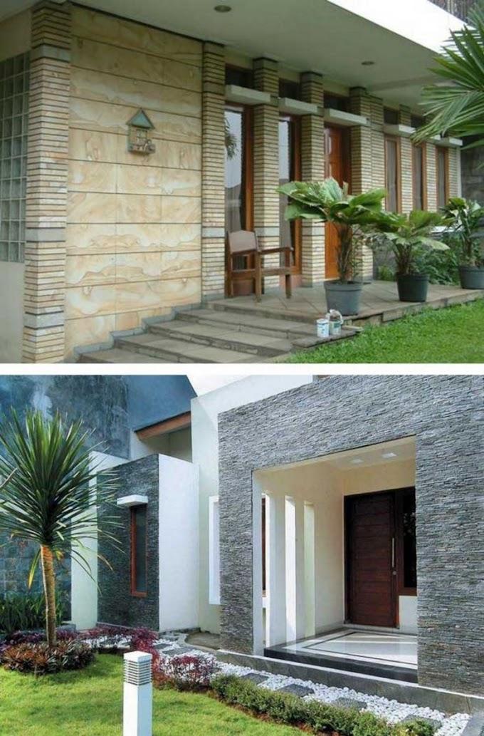 Batu Alam Untuk Dinding Rumah Minimalis   Ide Rumah Minimalis
