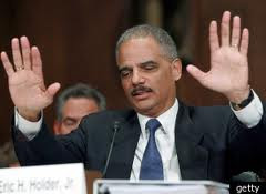 Eric Holder, CALEXIT spokesman of Fast and Furious fame. He was also held in contempt of Congress for refusing to come clean in his other scandal, Fast and Furious which resulted in the death of Border Patrol agent, Brian Terry.