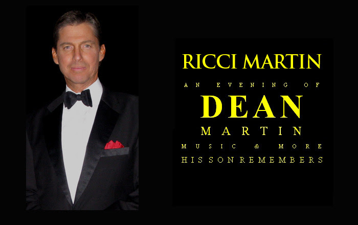 Ricci Martin had a long running tribute show for his father (Source: RicciMartin.com)