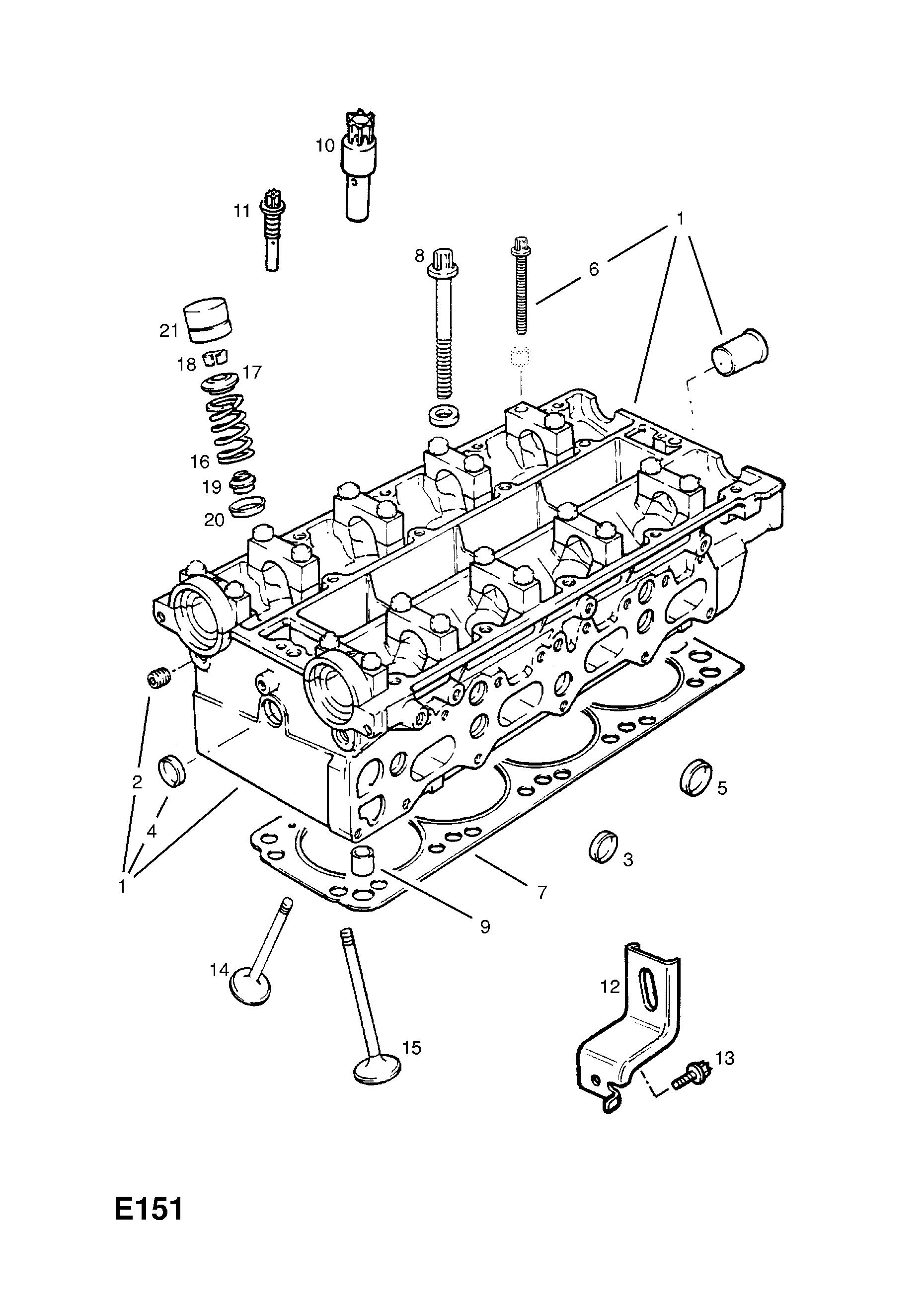 F Head Engine Diagram
