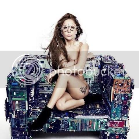 nuova immagine promo di gaga per artpop