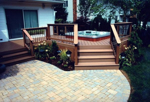 Back Yard Deck and Patio Designs