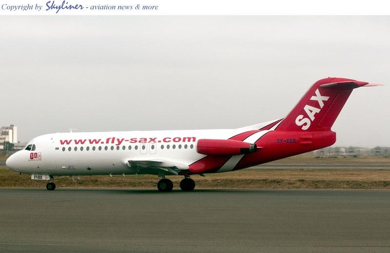 flySAX Fokker 285Y-EEE in Nairobi, Kenya