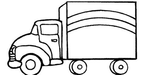 mewarnai gambar mobil box murid