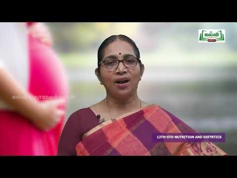 12th Food Science and Nutrition அலகு 1 Kalvi TV