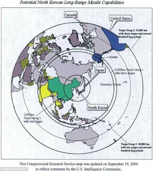 Που φθάνουν τελικά οι πύραυλοι της Β.Κορέας; ΒΙΝΤΕΟ και χάρτες