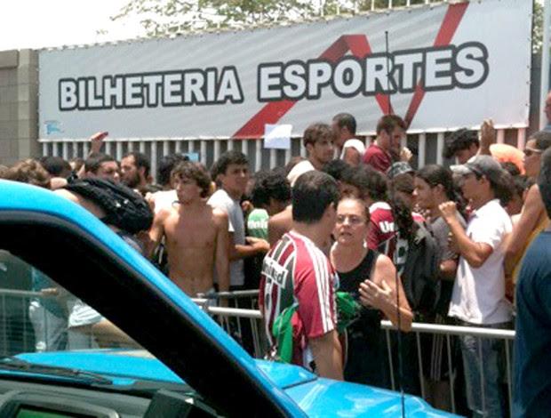 Policia Reforçada Torcida Ingressos Fluminense