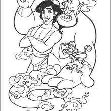 770 Genie Coloring Pages Disney Download Free Images