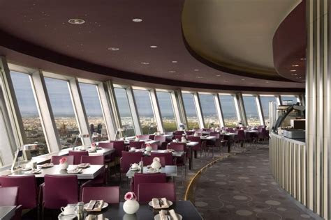 Rotating Restaurant in the TV Tower   Rooftop Restaurants