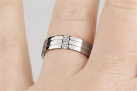 diamonds patterns wedding rings  men