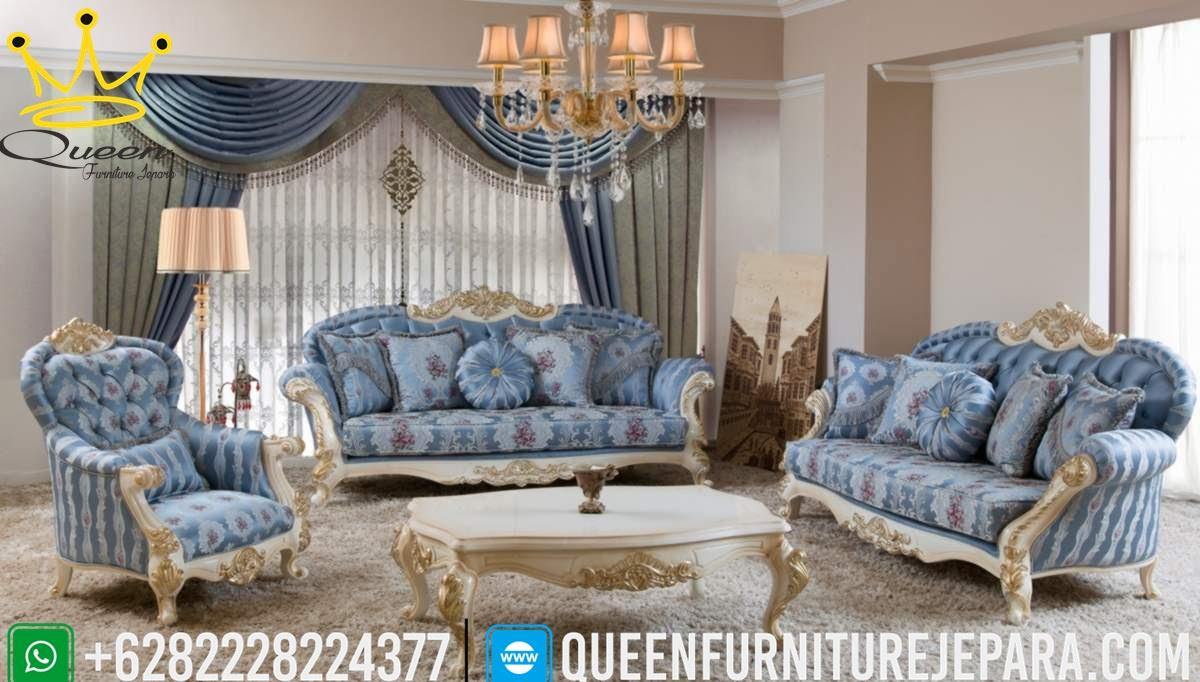 Model Sofa Koltuk Bergaya Lawson Jati Jepara Terbaru Queen