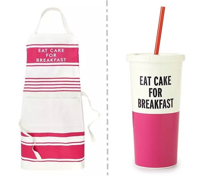 kate spade : eat cake for breakfast