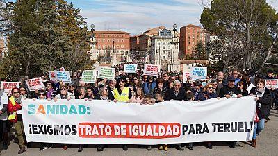 """14 horas - Plataforma Teruel Existe: """"Una página del BOE consigue más que 20 años de lucha"""" - Escuchar ahora"""